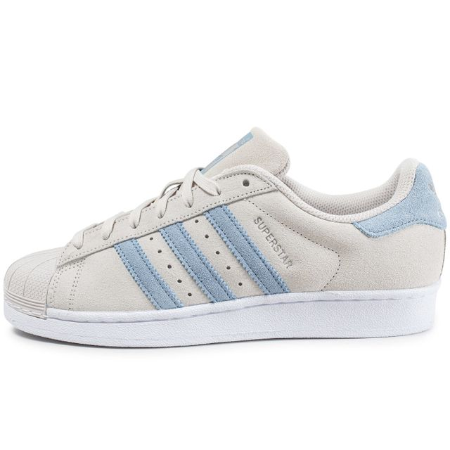 Superstar Suede Pearl Grey