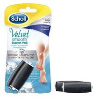 Scholl - Rouleaux Velvet Smooth 1 x Grain Extra Exfoliant et 1 x Sensation douceur