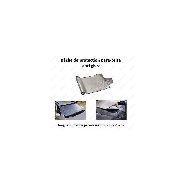 peraline bache anti givre de pare brise voiture 150 x 70 cm 70cm x 150cm x 70cm pas cher. Black Bedroom Furniture Sets. Home Design Ideas