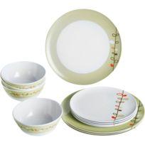 Autre - Pack vaisselle mélamine Esprit 12 pièces