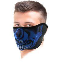 Zanheadgear - Blue Chrome Skull