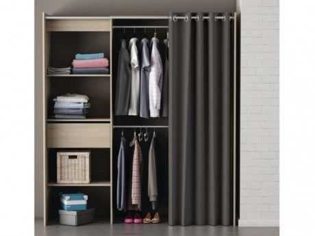 grande armoire dressing elegant armoire metre de largeur. Black Bedroom Furniture Sets. Home Design Ideas