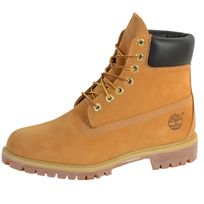 Timberland - Chaussures 10061 Af 6IN Prem Bt Wheat Yellow