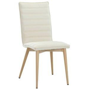 Inside 75 chaise design scandinave utgard tissu beige for Chaise zons