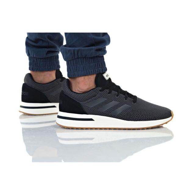 Adidas Run 70S Noir pas cher Achat Vente Baskets homme