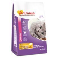 Animalis - Croquettes pour Chatons au Poulet - 400g