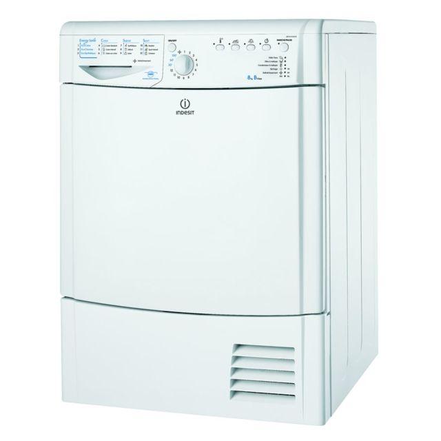 Indesit Sèche-Linge Condensation 8kg IDCAHG35B FR, IDCAHG 35 B FR