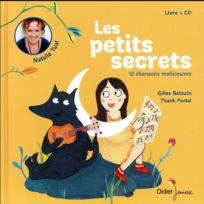 Didier Jeunesse - les petits secrets ; 12 chansons malicieuses