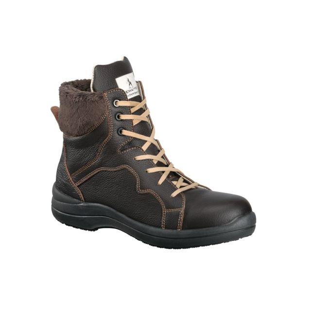 online store f00eb 83144 Lemaitre Securite - Chaussure de sécurité femme haute Lemaitre S3 Brunelle  Src