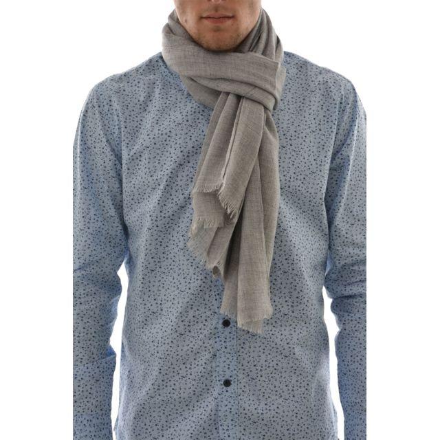 Lee Cooper - Echarpe xavier 5200 gris Taille Unique - pas cher Achat    Vente Echarpes, foulards - RueDuCommerce a377c454f21