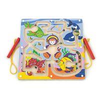 New Classic Toys - 50123 - Jeu De Société - Labyrinthe - Fonds Marin