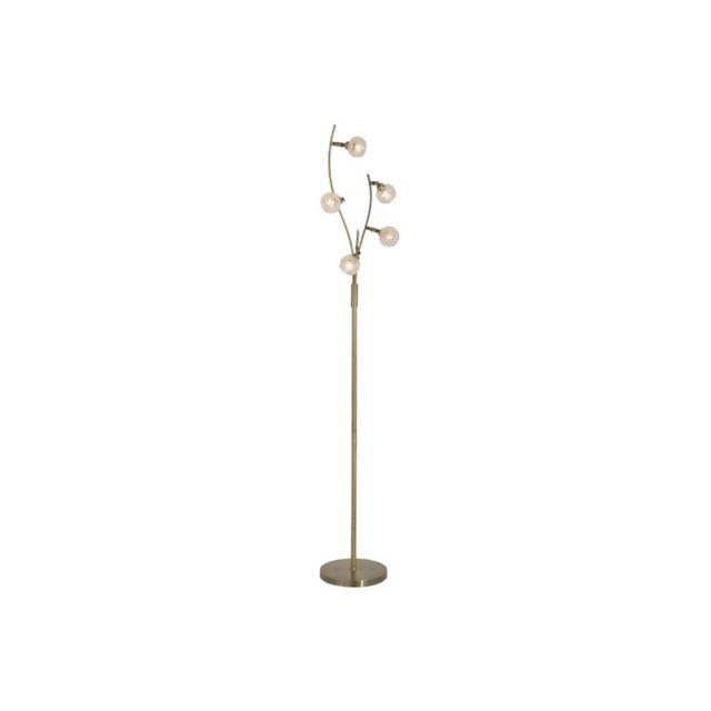 Millumine lampadaire de salon bourgeon laiton doré 32cm x 0cm x 170cm pas cher achat vente lampadaires rueducommerce