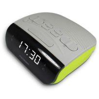 Radio réveil Duo Colors Double alarme vert