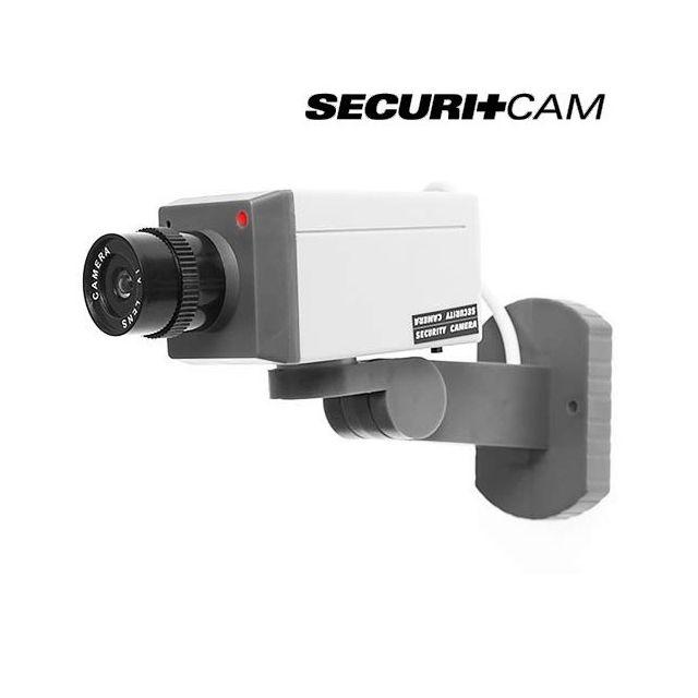 Totalcadeau pack cam ra surveillance sans fil 24h 24 - Fausse camera de surveillance ...