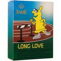 Amor - Preservatif Long Love Delay 3 Units