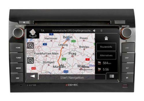Zenec Autoradio/VIDEO/GPS Z-e3726