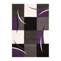 Un Amour De Tapis - Tapis Diavirgule Tapis Moderne par Unamourdetapis violet 60 x 110 cm