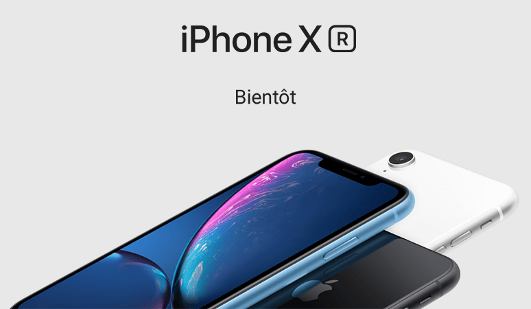 iPhone XR. Bientôt