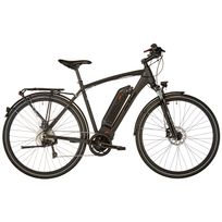 Ortler - Luzern - Vélo de trekking électrique - noir