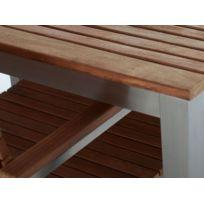 Table jardin inox - catalogue 2019/2020 - [RueDuCommerce]