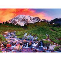 Master Pieces - Puzzle 1000 pièces : Lever du soleil dans les alpes