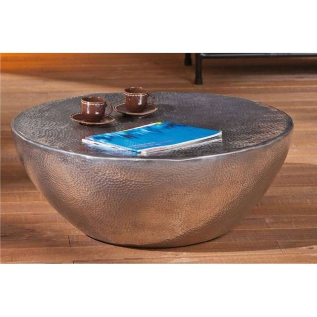 Inside 75 Table basse design Pelas en aluminium