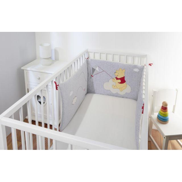 DISNEY BABY - Tour de lit bébé WINNIE L\'OURSON - pas cher ...