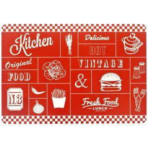 Promobo - Set De Table Design Fast Food Vintage Restaurant Cuisine ...