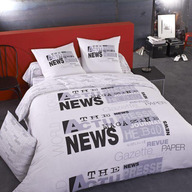 ifilhome drap housse coton gris news pas cher achat vente draps housses rueducommerce. Black Bedroom Furniture Sets. Home Design Ideas