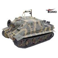 Torro - Tank- 3819 I-sturmtiger Metallunterwanne Ir Tarnlackierung Embuscade