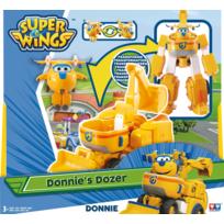 "RUE DU COMMERCE - Super Wings - Véhicule Transformable en robot ""Transforming Cruiser"" 18cm - DONNIE - YW720312"