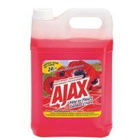 Ajaxx63 - Nettoyant multi-usages Ajax fleurs rouges - Bidon de 5 litres