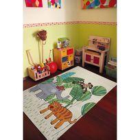 Smart Kids - Tapis enfant Jungle Friends Undefined par