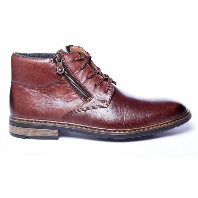 2f11edfabade3b Rieker - Boots Larache Marron 44 - pas cher Achat / Vente Boots homme -  RueDuCommerce
