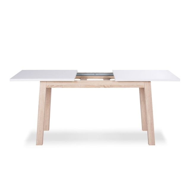 axe design table manger extensible longueur 140 190 cm aaron - Table De Salle A Manger Extensible