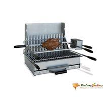 Delta - Barbecue n°6B Sète à charbon de bois en acier