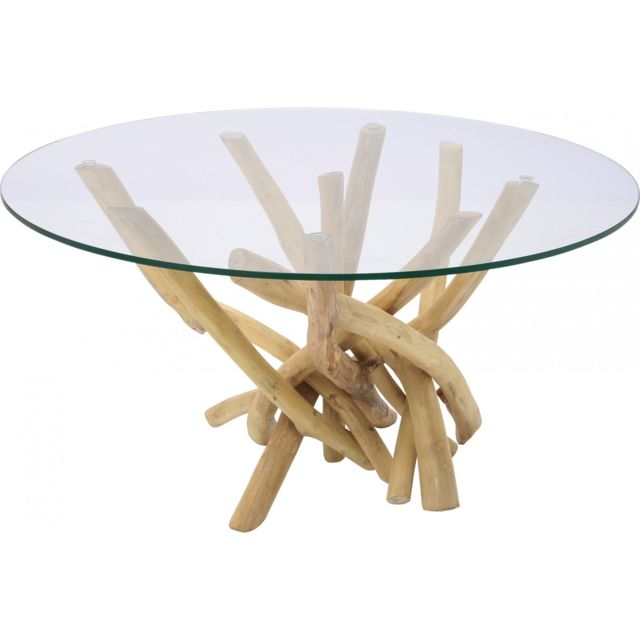 Karedesign Table Basse Ronde Flint Stone Kare Design