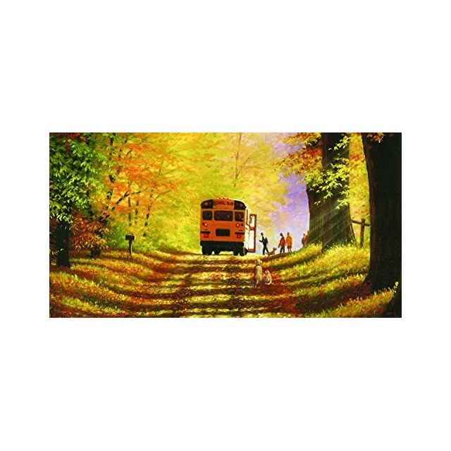 Sunsout Road to tthe Future 500 Piece Jigsaw Puzzle by