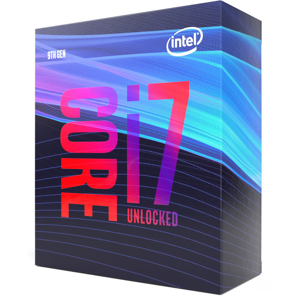 Processeur Core i7 9700K 3,6/4,9 GHz Intel