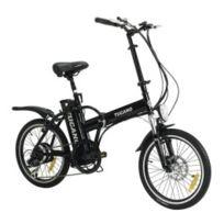Tucano - Vélo électrique pliant De Luxe noir