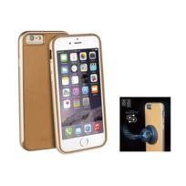 Uniq - AirCraft Plus'' iPhone 6 + support magnétique - Camel