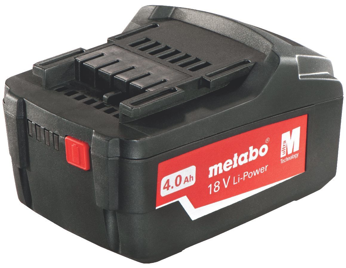 Metabo - Batteries Li-Ion coulissante « Air Cooled » 18 V / 4,0 Ah - 62559100