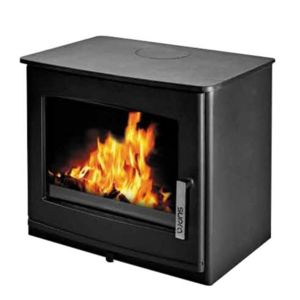 supra poele bois 7kw noir gabin rabaisse 630mm x. Black Bedroom Furniture Sets. Home Design Ideas
