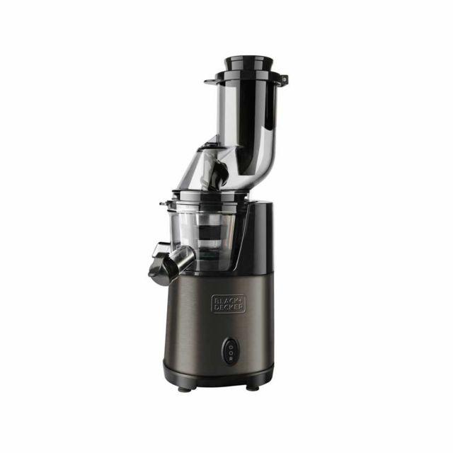 Black & Decker extracteur de jus 200w noir - bxje200e
