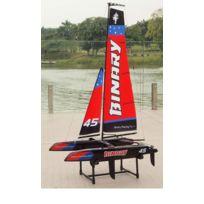 Joysway - Mini Catamaran rouge RTS