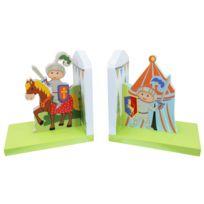 FANTASY FIELDS - Set de serre-livres Knights & Dragon fabriqués à la main pour enfants 2 pièces