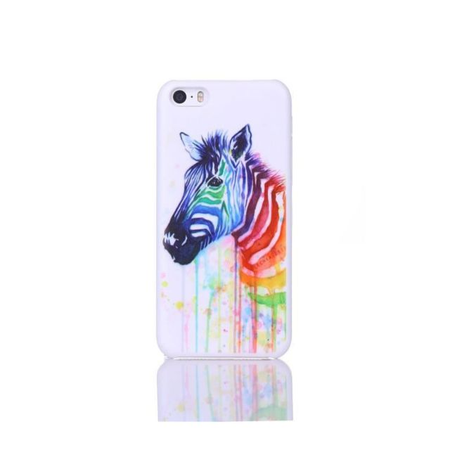 coque iphone 5 multicolore