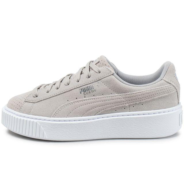 chaussures puma femme suede platform