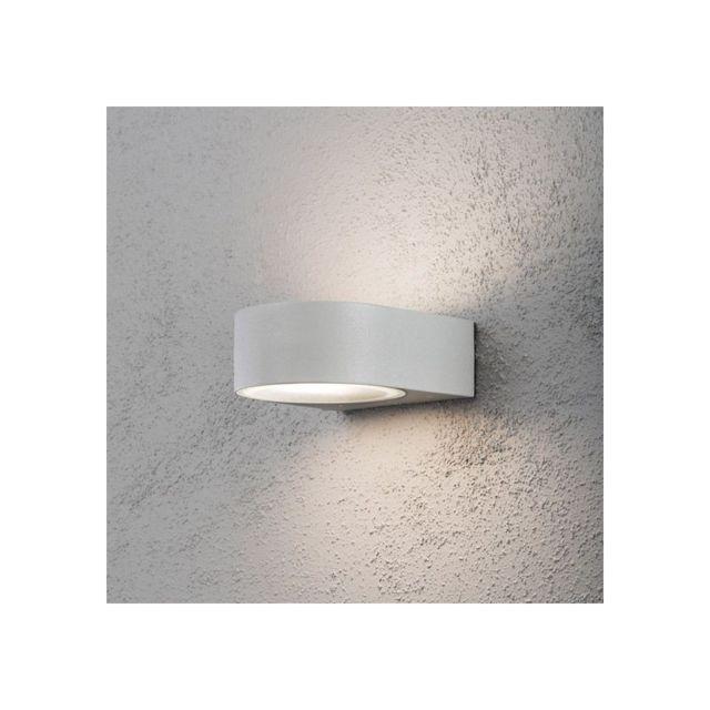 applique exterieur design cheap applique duextrieur design led moonlight grise en aluminium. Black Bedroom Furniture Sets. Home Design Ideas