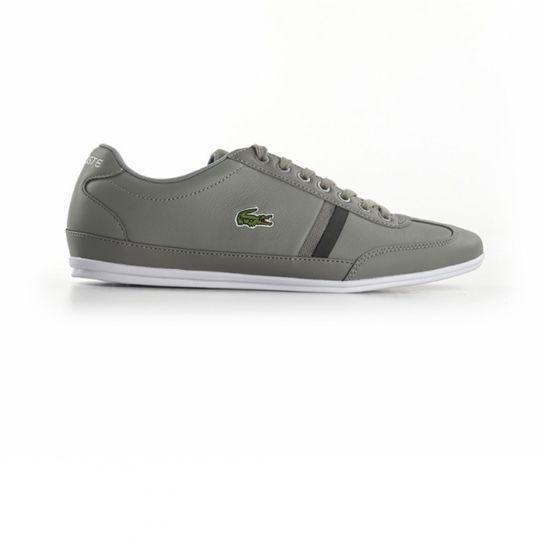 da98acc18e Lacoste - Chaussures Misano Sport 116 1 Grey - pas cher Achat / Vente  Baskets homme - RueDuCommerce